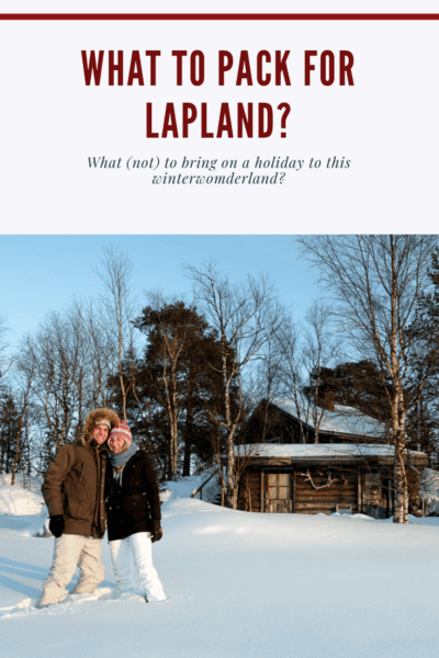 What to pack for a holiday to Lapland?