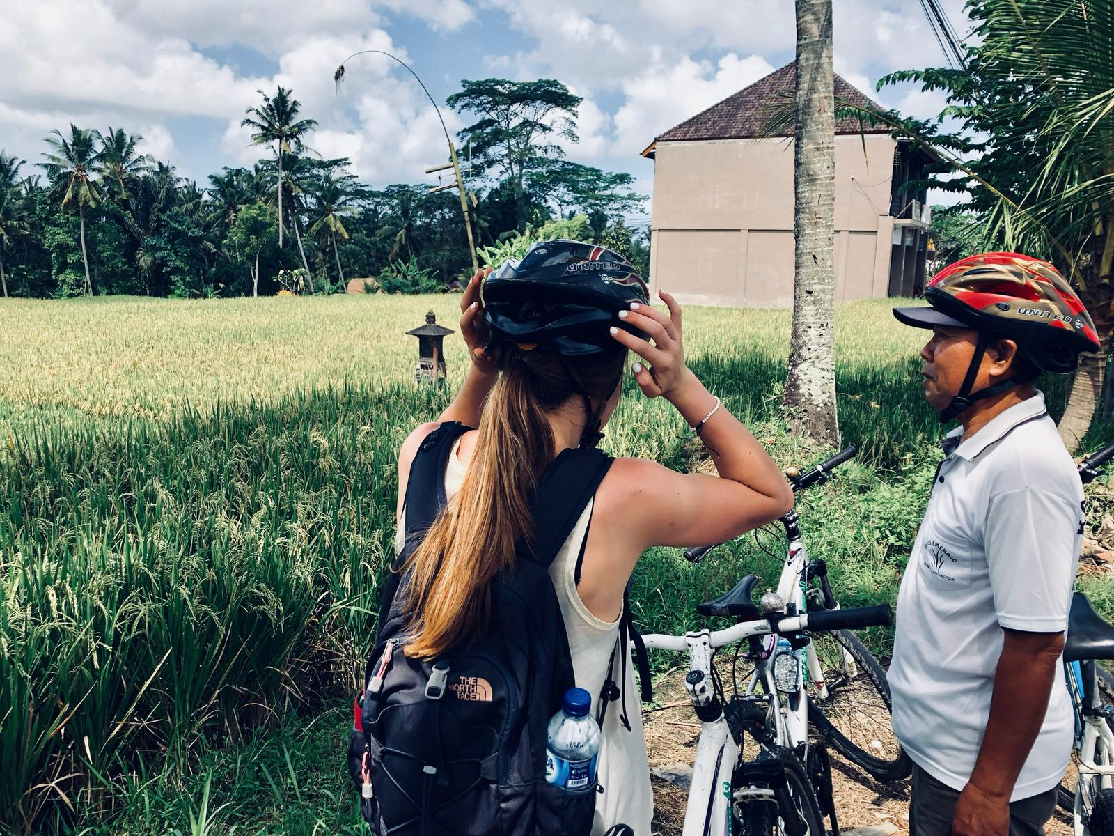 Cycling on Bali - Ubud