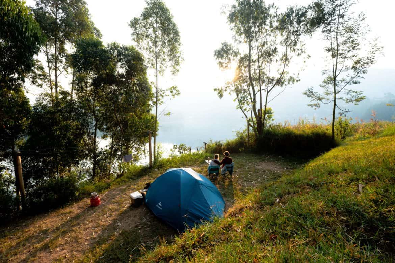 Lake Bunyonyi camping