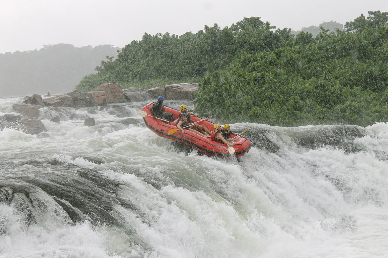 Jinja Nile Rafting Uganda