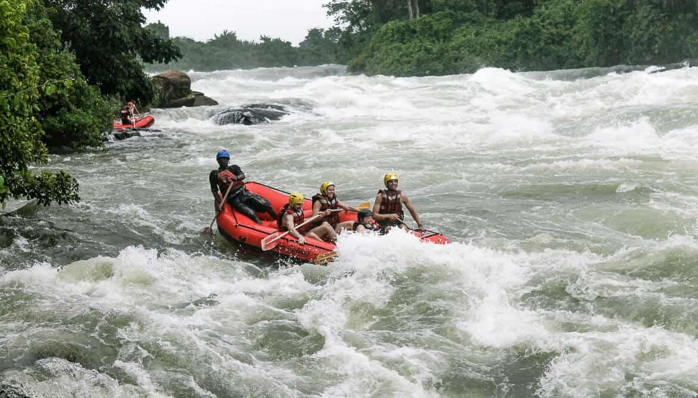 Jinja - Rafting