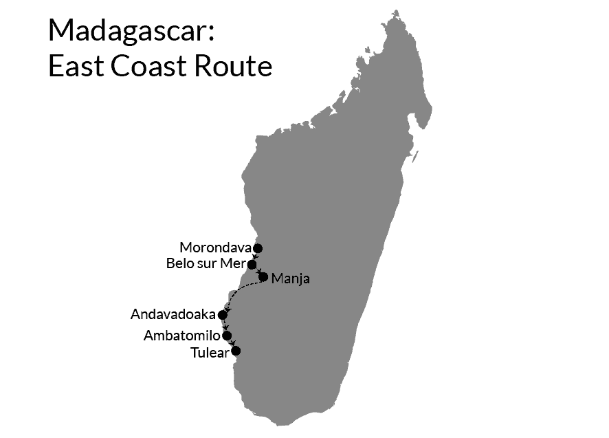 Morondava to Tulear
