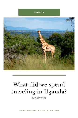 What did we spend traveling in Uganda