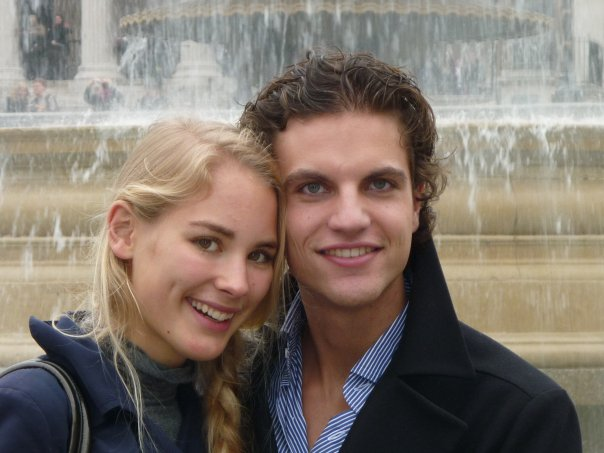 Charlotte and Ries in London 2009