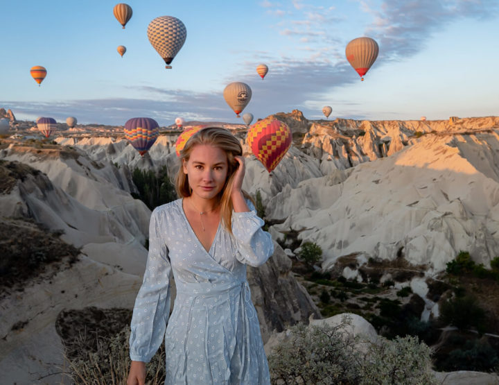 The best locations to view hot air balloons in Cappadocia (Turkey)!