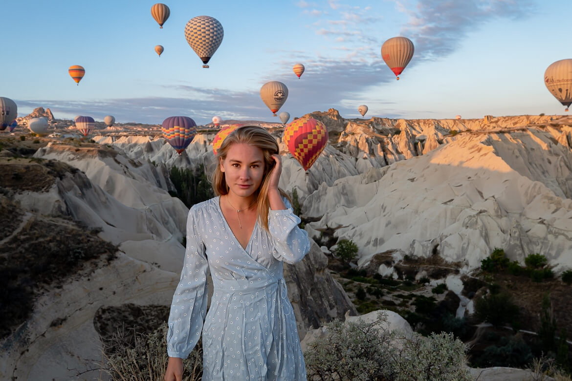 Cappadocia travel guide: the best locations to see or photograph the hot air balloons at sunrise!