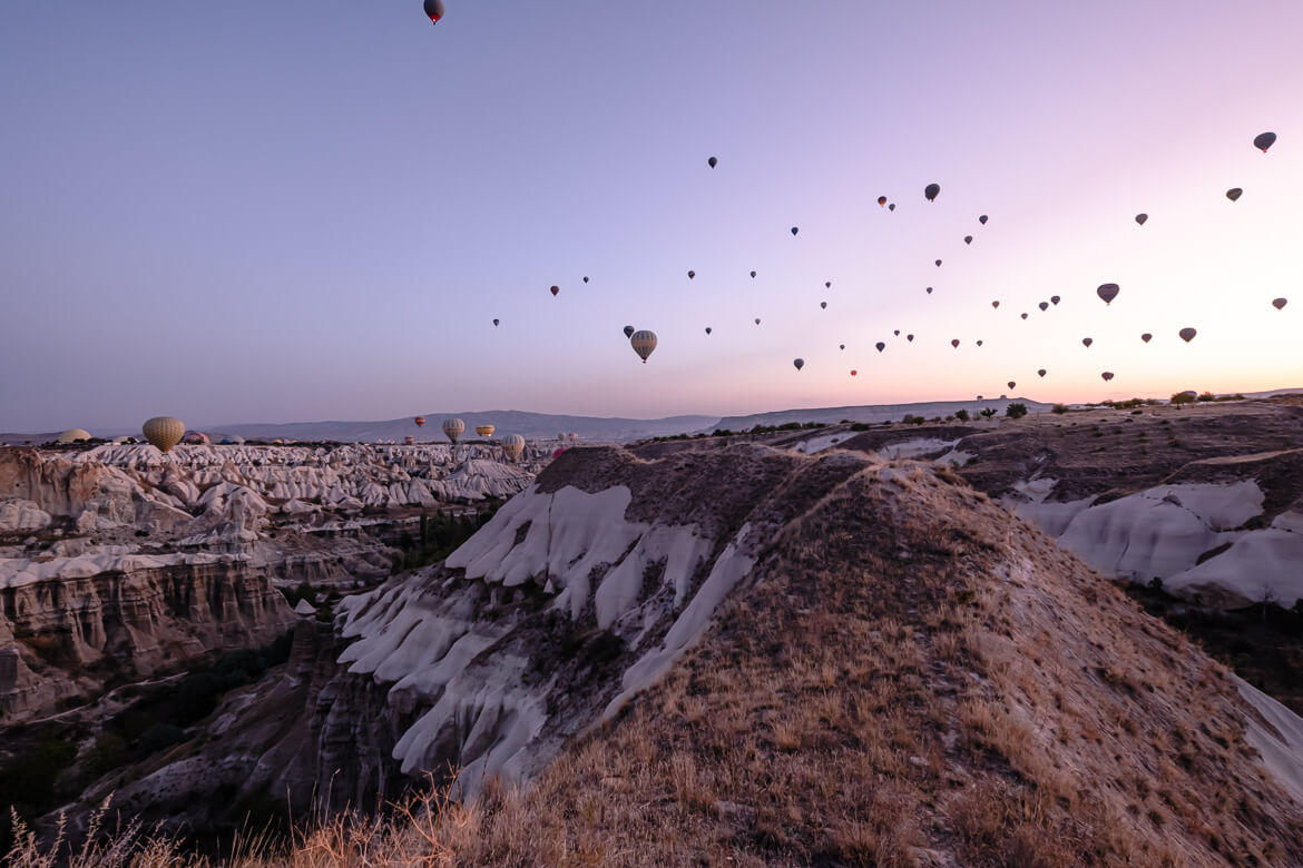Hot Air Balloons in Göreme Cappadocia