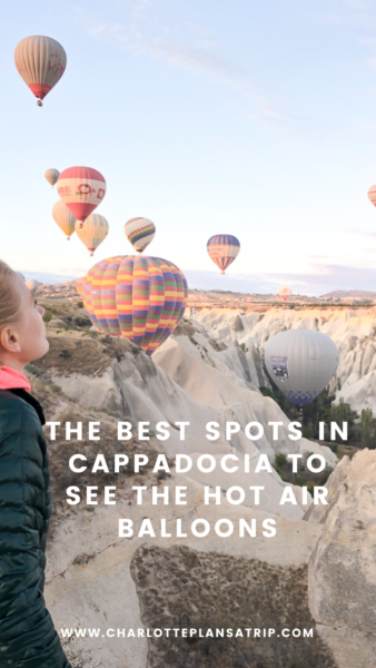 The best spots in Cappadocia to see the hot air balloons at sunset