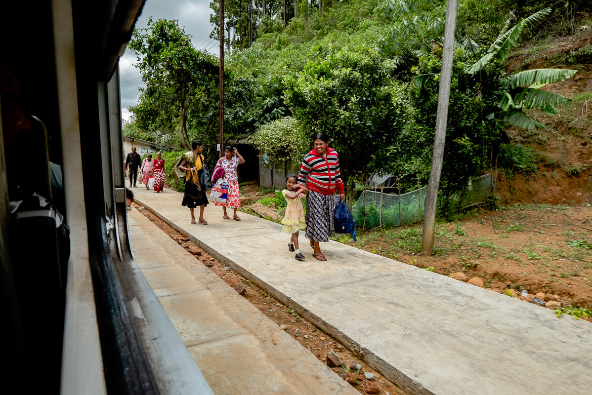 Beautiful trainride Kandy to Ella