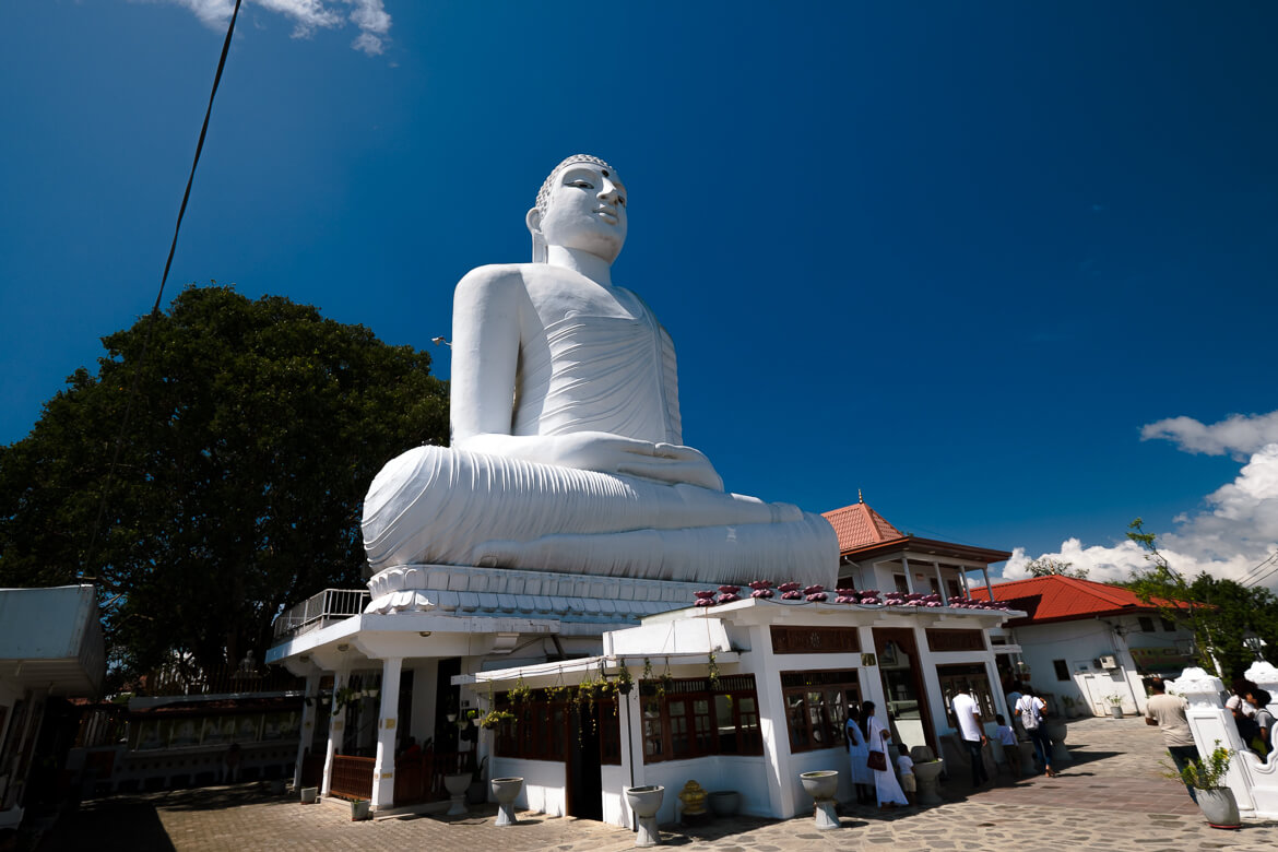 Big Buddha statue @ Kandy