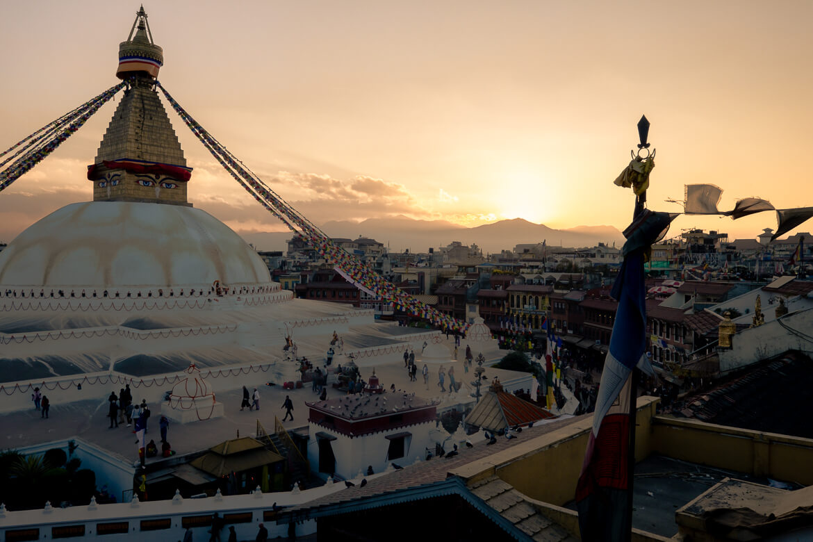 Boudha sunset-2