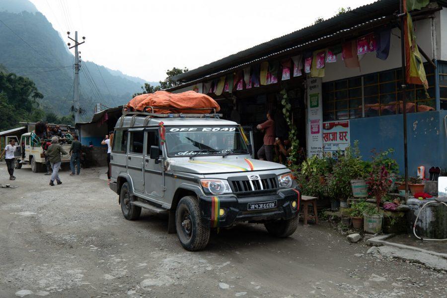 Jeep to Besi sahar