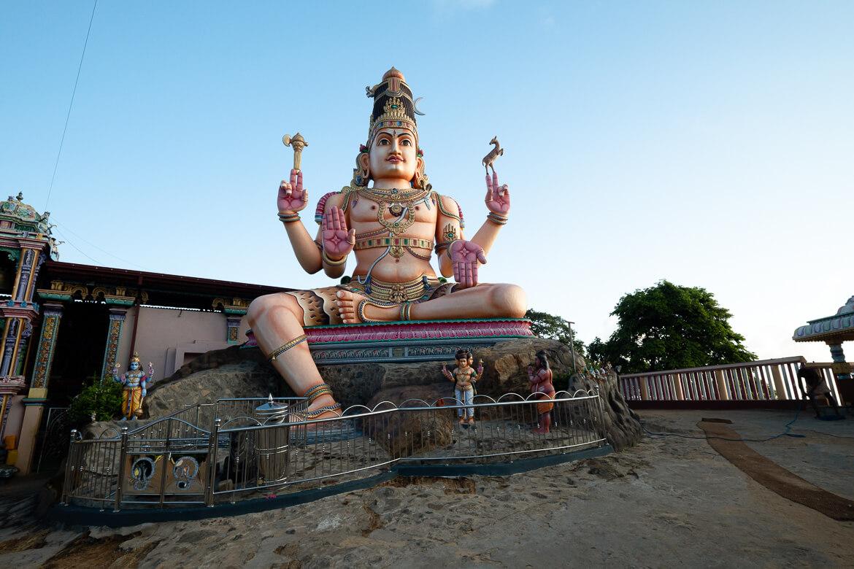 Fort Frederick - Buddha Tempel