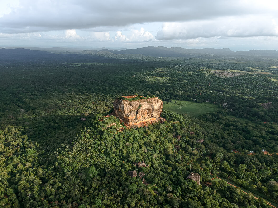 Lion's Rock us Sigiriya