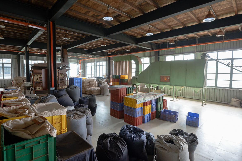 Tea factory hall