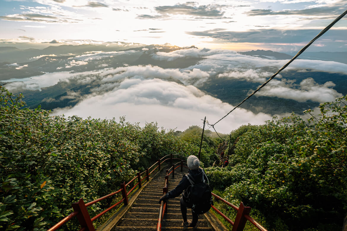 Ascending Adam's Peak