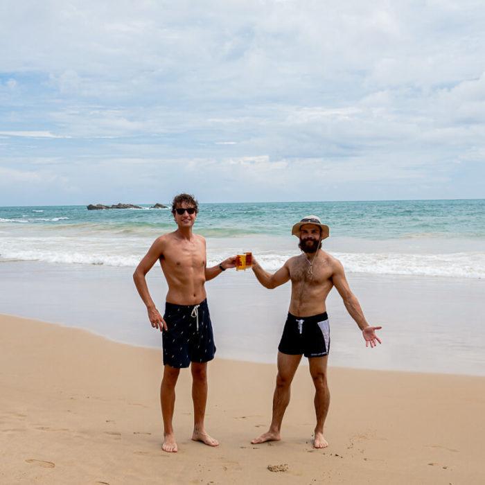 Cheers to Lion Beer Sri Lanka Dickwella