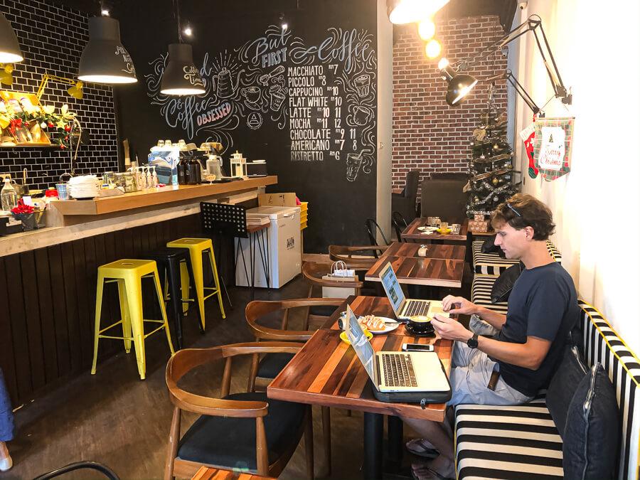 Coffee bar Kuala lumpur