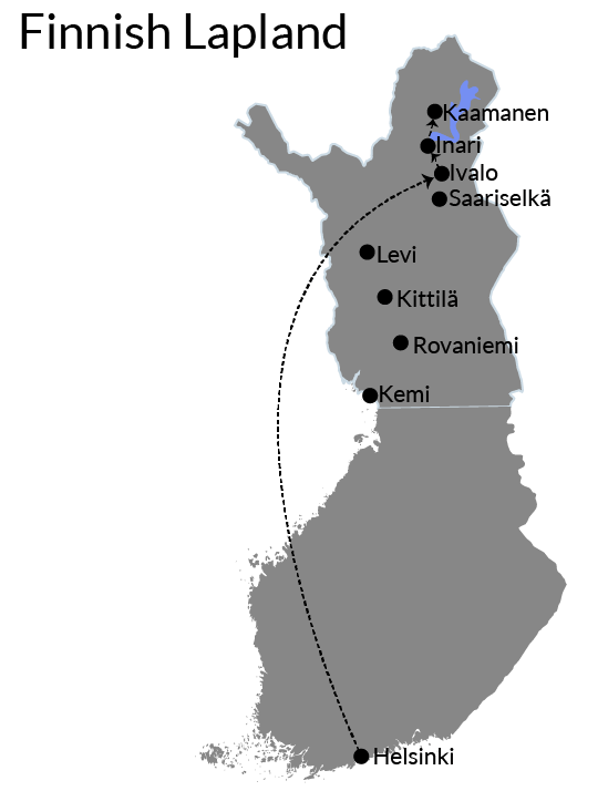 Finnish Lapland Itinerary