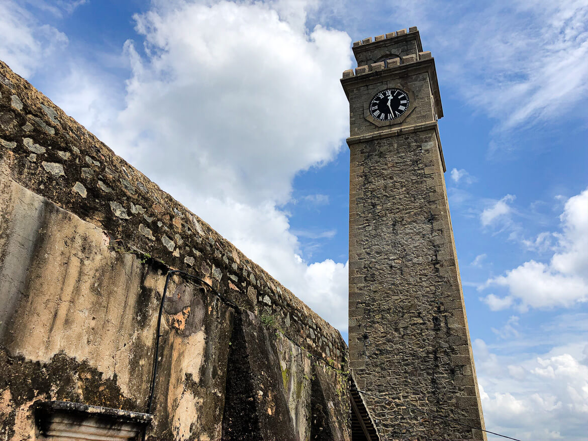 Galle old clock
