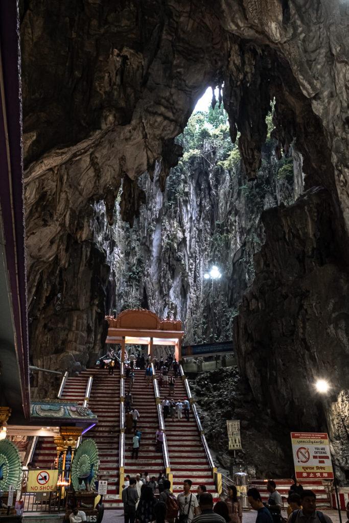 Inside Batu Caves Kuala Lumpur