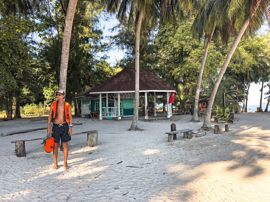 Island hopping tour Langkawi waterjacket proof