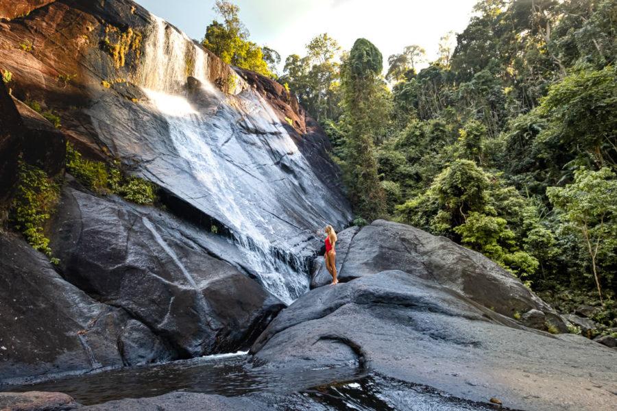 Malaysia Langkawi waterfall
