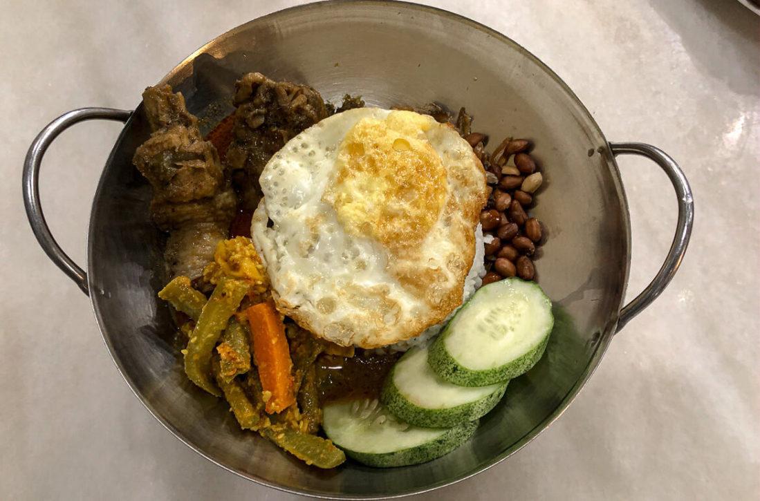 Malaysia Melaka Chinese dish