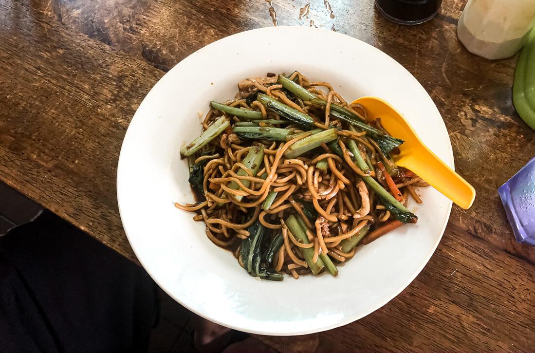 Malaysia Melaka local veggie dish