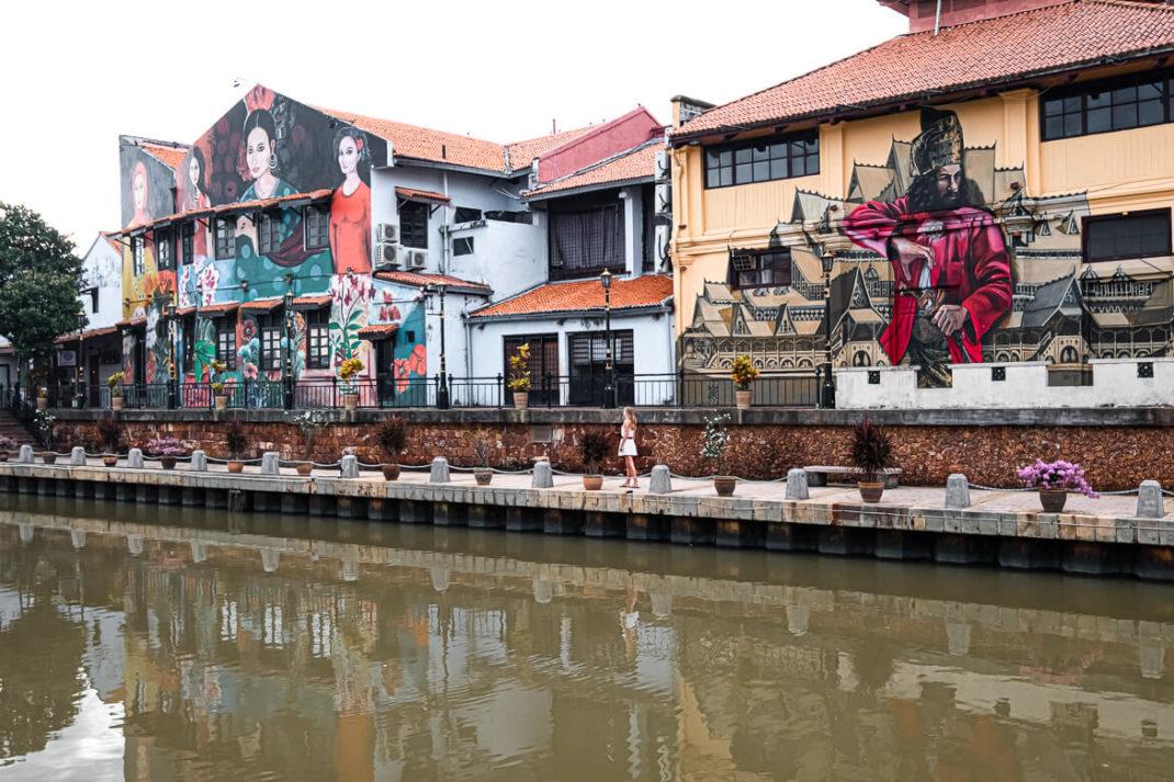 Malaysia Melaka street art