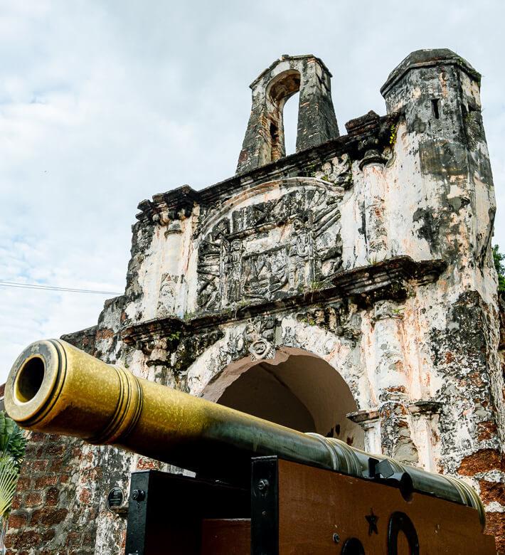 Malaysia Melaka A Famosa Fort