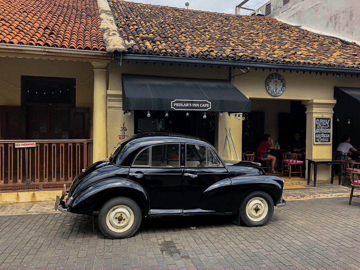 Old timers in Galle