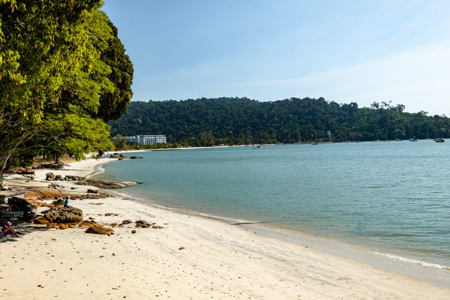 Public Pentai Kok Beach Langkawi Malaysia