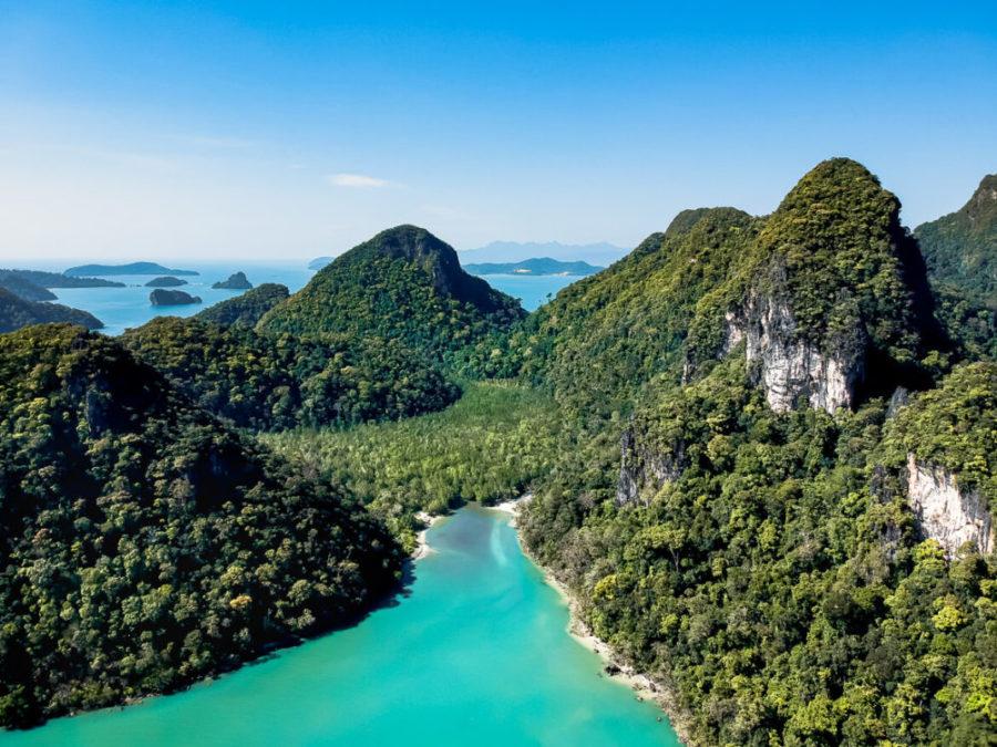 Pulau Dayang Bunting Island hopping