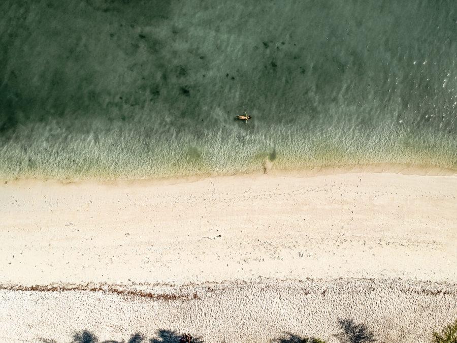Pulau Kentut Besar clear waters