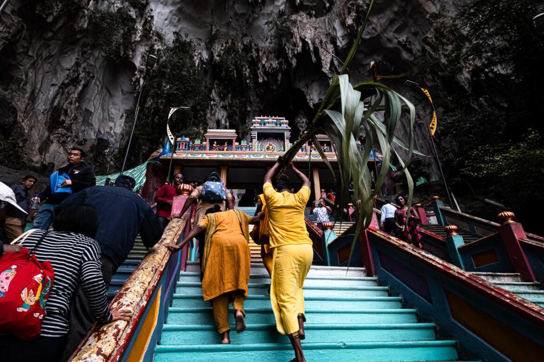 Stairway to Batu Caves Kuala Lumpur