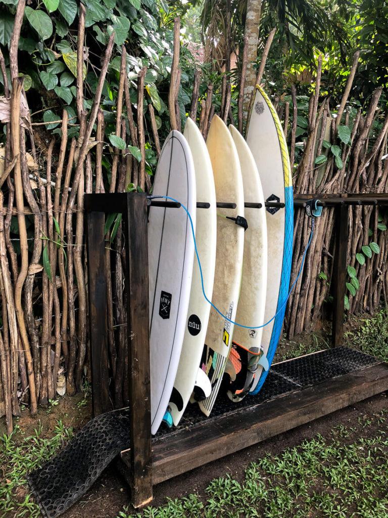 Surfshop at Hiriketiya Beach