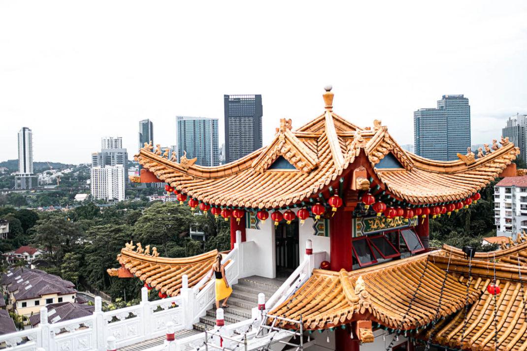 Thean Hou Temple wandering around Kuala Lumpur