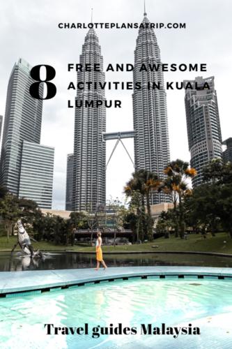 Travel Guide budget activities Kuala Lumpur