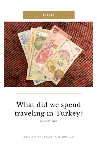 What did we spend traveling in Turkey? Budgetpost