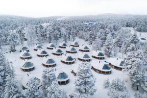 Aurora Cabin Wilderness Hotel Inari