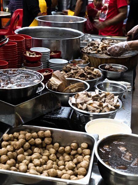 Bakuteh Sin Kee restaurant Kota Kinabalu Borneo