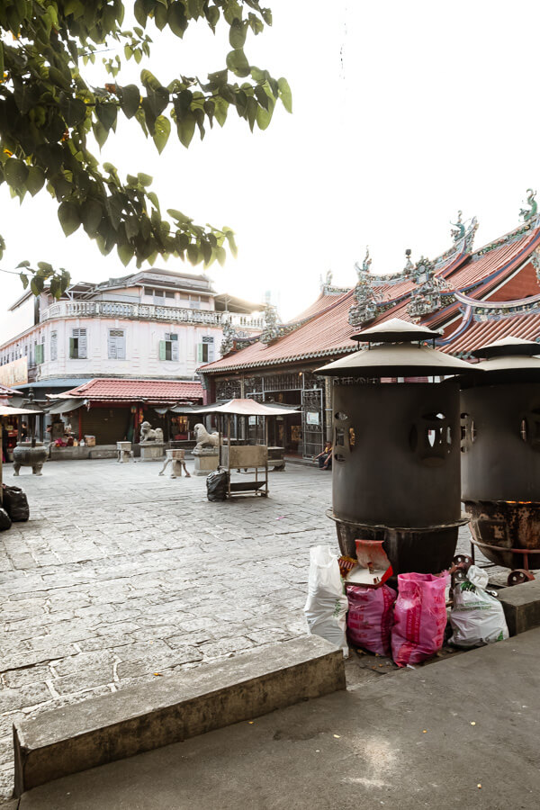 Chinese temple George Town Malaysia