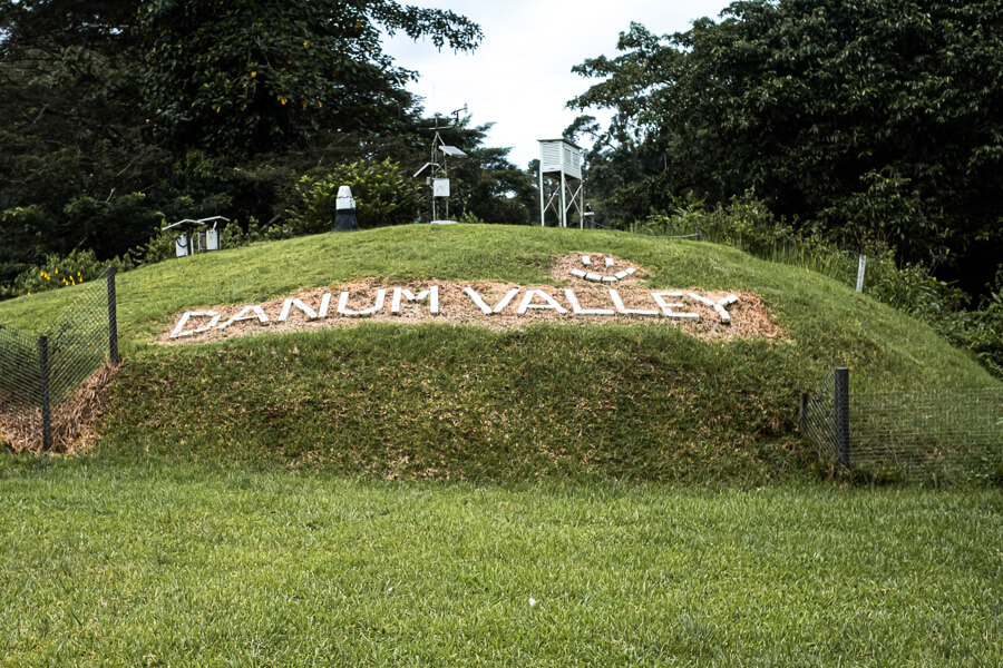 Danum Valley sign