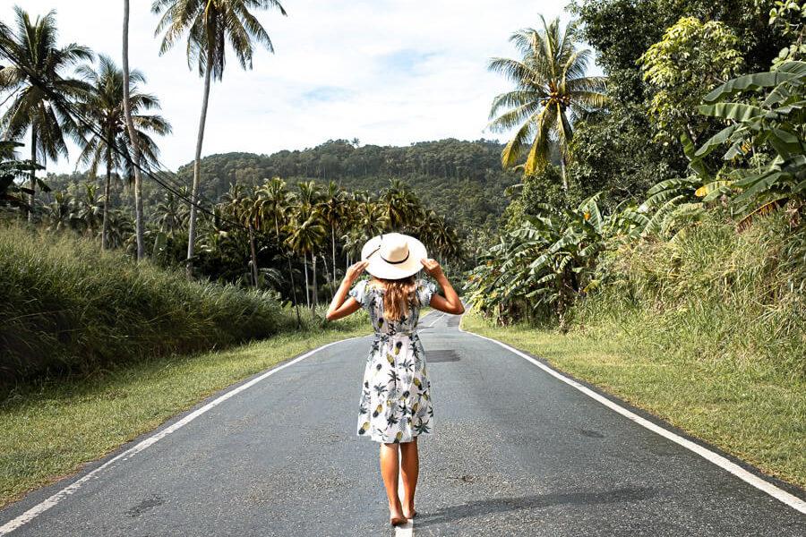 Discovering roads Sabah Malaysia