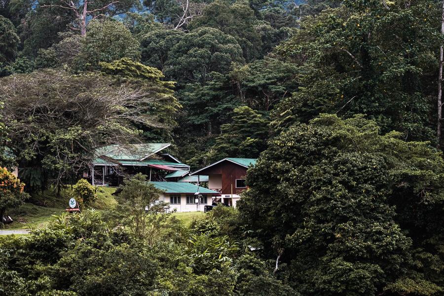 Field center Danum Valley Sabah Borneo Malaysia
