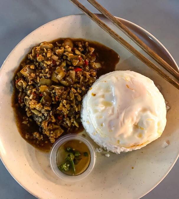 Fried rice and egg George Town