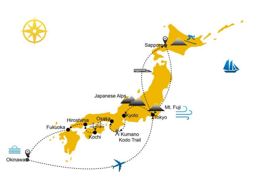 Hotel guide Japan travel itinerary