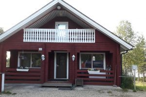 Ivalo Lake Cottage Lapland Finland