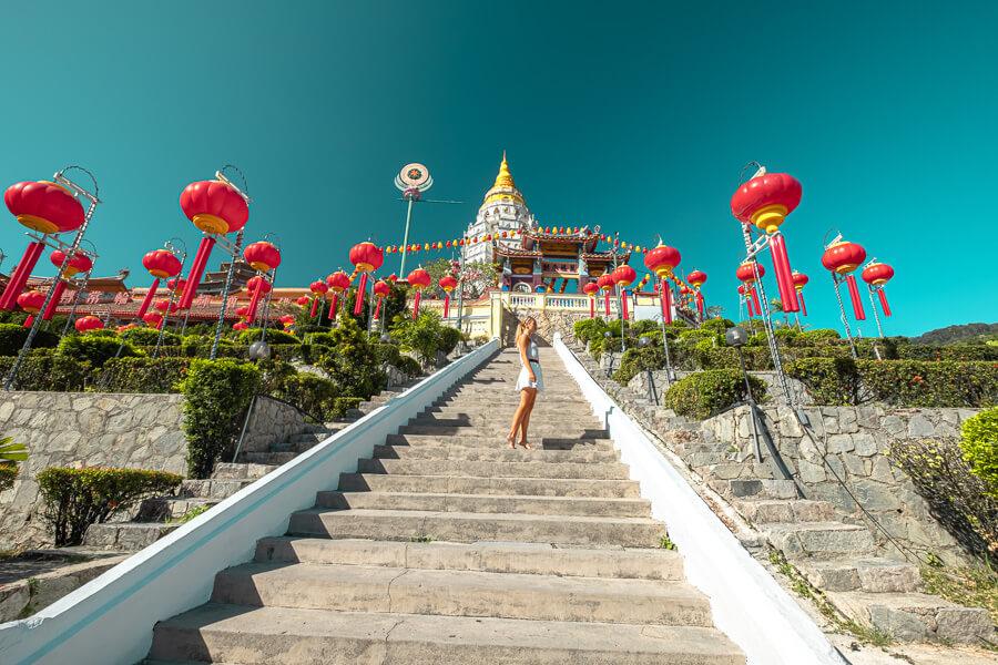 Kek Lok Si stairs Temple Penang